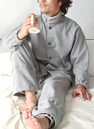 ヒートネックメンズパジャマ