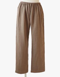 独特のシボ感が特徴的な作務衣用ズボン単品