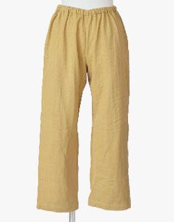 ふっくらふわふわで暖かい冬の3重ガーゼ長ズボン単品