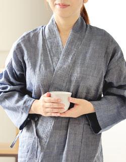 10分袖丈でも動きやすい、ゆとりあるサイズ感