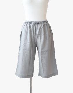 素肌にやさしい1重ガーゼ半ズボン単品