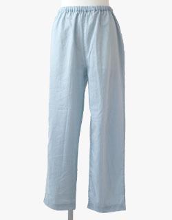 産後の体型変化にも対応できるマタニティ用長ズボン
