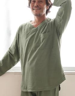 多くのご要望から生まれたVネックパジャマ