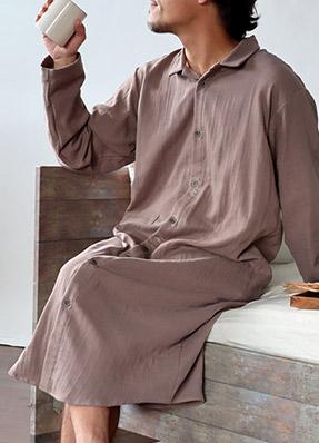 エアリーリップルメンズ半袖半ズボンパジャマ